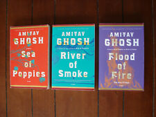 3 Amitav Ghosh COMPLETE Ibis trilogy Flood of Fire River of Smoke Sea of Poppies