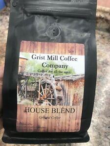 Grist Mill Coffee-House Blend, Organic, Award Winning, Low Acid