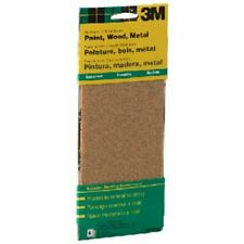 3M General Purpose Sandpaper Sheets, 3-2/3-in by 9-in, Assorted Grit