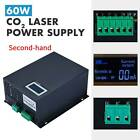 Secondhand 60W LCD Display CO2 Laser Power Supply for Laser Engraver Cutting