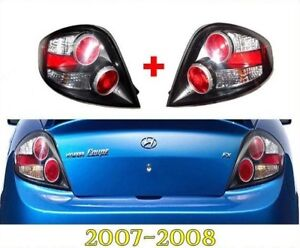 TAIL LAMP LIGHT REAR LAMP RH & LH Set OEM Part 2007-2008 Hyundai Tiburon / Coupe