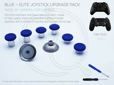 3 Bleu PS4 XBOX ONE ELITE Joystick Upgrade Custom Concave Convexe Manette de télécommande mod