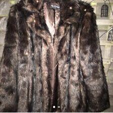 miss selfidge faux fur coat