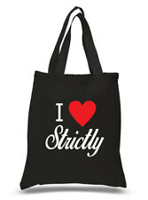 I LOVE Strictly Shopping Bag Printed Life Hand Clutch T shirt Hoody Printed