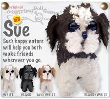 Kamibashi Sue shih tzu Puppie Dog The Original String Doll Gang Keychain Clip