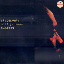 "MILT JACKSON QUARTET– Statements (1962 VINYL SINGLE 7"" DUTCH PS)"