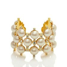 Kate Spade Metropolitan Pearl Cuff Bracelet NWT  Stunning Classic for All Time!