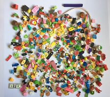 Huge Mixed Lot Of Erasers 6 Lbs Kids Some Are Buildable School Htf