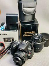 Canon EOS Rebel SL2 + Lenses + More
