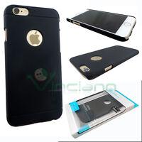 Custodia Nillkin Frosted Shield nero per iPhone 6 4.7 6S cover rigida nuova case