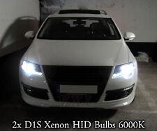 2x D1S Xenon White 6000K Bulbs Replacement Headlights VW PASSAT 3C B6 2005-2010