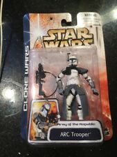 Star Wars Clone Wars Blue ARC Trooper Action Figure Army of the Republic MOC Toy