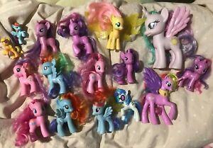 Lot of Mixed G4 My Little Pony toys brushables fashion style McDonald's vinyl