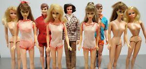 LARGE Vintage Barbie, Ken & PJ Dolls w/ Clothing & Accessories Lot! GUC!