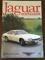 JAGUAR ENTHUSIAST Volume 12 Number 6 - June 1996
