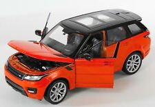 BLITZ VERSAND Land Rover Range Rover Sport orange Welly Modell 1:24 NEU & OVP