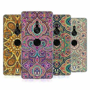 HEAD CASE DESIGNS INTRICATE PAISLEY HARD BACK CASE & WALLPAPER FOR SONY PHONES 1