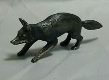 Antique Kirk & Son Sterling Silver Miniature Fox