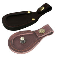 Tourbon Skeet/Trap Shooting Toe Protective Shoe Pad Clay Barrels Rest Leather