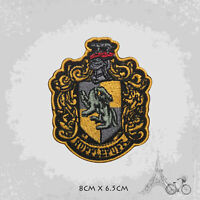 Harry Potter Hufflepuff Logo Patch Iron On Patch Sew On Embroidered Patch