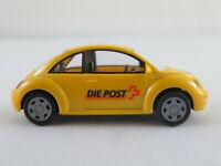 """Wiking VW New Beetle (1999) """"Die Post (Postmuseum Bern)"""" 1:87/H0 NEU/unbesp."""