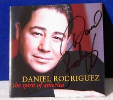 Daniel Rodriguez The Spirit Of America 12 track 2002 cd Signed Autographed 9/11