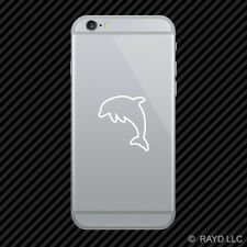(2x) Dolphin Cell Phone Sticker Mobile marine mammal ocean many colors