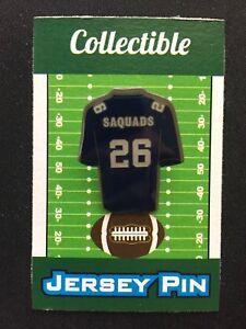 "New York Giants Saquon Barkley jersey lapel pin-#1 Collectible-""Saquads""-GGG-Men"