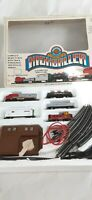 Vintage bachmann electric train highballer N scale Santa fe 215 model 4306