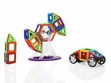 Magnetic Tiles For Toddlers Kids Preschool Blocks Set 118 Piece Educational Toy