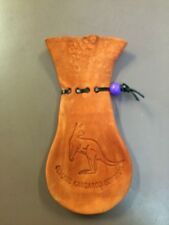Medium Kangaroo Leather Pouch Scrotum Genuine 100% Australian