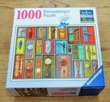 "Ravensburger ANTIQUE DOORKNOBS 1000 pc Jigsaw Puzzle 27"" x 20"" SEALED #823581"
