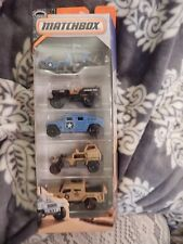 HEROIC VEHICLES 5-PACK 2016 MATCHBOX MILITARY VEHICLES DIE CAST CARS