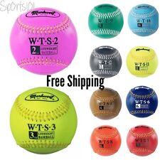 Markwort Weighted Baseball Synthetic Leather Covered Training Aid Balls