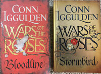WARS OF THE ROSES x 2 – CONN IGGULDEN – Bloodline and Stormbird