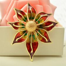 Coat Collar Broche Hijab Pins Pla… Gold Large Brooches For Women Flower Brooch
