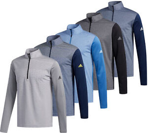 Adidas Lightweight UPF 1/2 Zip Golf Pullover Men's New - Choose Color & Size!