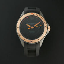 NEW Baume & Mercier Clifton Club Swiss 18K Automatic Rubber Strap Watch 10425