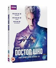 DOCTOR WHO THE COMPLETE SEASON / SERIES 10 DVD ENGLISCH