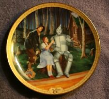 """Bradford-Wizard Of Oz Plate-Limited Edition-""""I'M A Little Rusty Yet"""" 3Rd In Seri"""