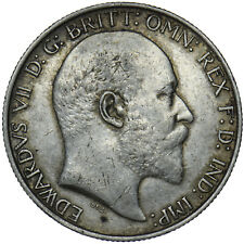 More details for 1909 florin - edward vii british silver coin - nice