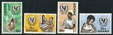 Ghana - 25 Jahre Kinderhilfswerk UNICEF Satz postfrisch 1971 Mi.Nr. 446-449