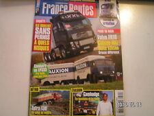 ** France Routes n°360 Dakar 2012  Volvo FH16-600 HD XXL  Ralentisseur Voith SWR
