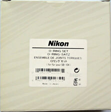 Nikon Nikonos SB-104 Replacement O ring set 3 rubber ring and 1 grease Genuine