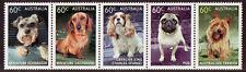 Australia 2013 Perros Franjas de 5 Nuevo sin Montar, MNH