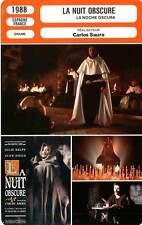FICHE CINEMA : LA NUIT OBSCURE - Diego,Saura 1988 The Dark Night of the Soul