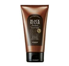 SKINFOOD  Black Sugar Perfect Scrub Foam 180g (New)   -Korea Cosmetics