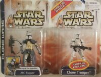 STAR WARS CLONE WARS BLUE VALUE PACK ARC TROOPER & CLONE TROOPER 2 PACK