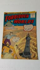 FORBIDDEN WORLDS #43 ~ Horror Comic ~ 1956 ~ ACG Comics
