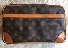 Authentic Louis Vuitton Monogram Compiegne 28 Clutch Hand Bag M51845 LV 54795